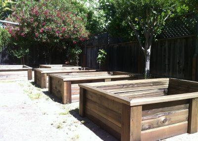 planter boxes california